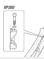 Cannondale Synapse Seatpost Wedge - KP300