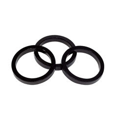 "Cannondale 5mm 1-1/8"" headset spacers x 3"