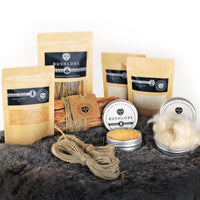 Tinder Box - Natural Fire-lighting Bushcraft Gift Set