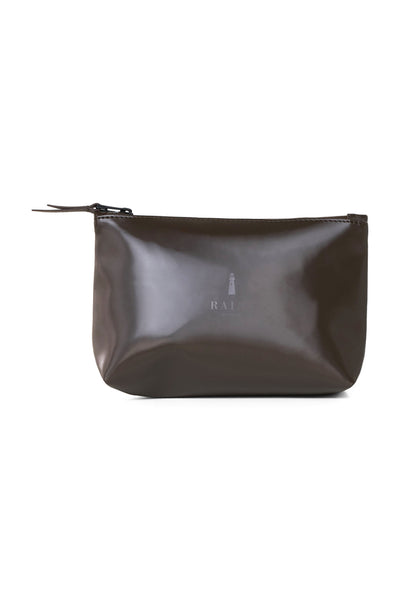 Cosmetic Bag - Shiny Brown