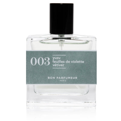 Eau de Parfum 003 (30ML) - Yuzu, Violet Leaves and Vetiver