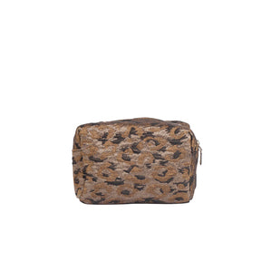 Aver Saville Small Toiletry Bag - Leopard