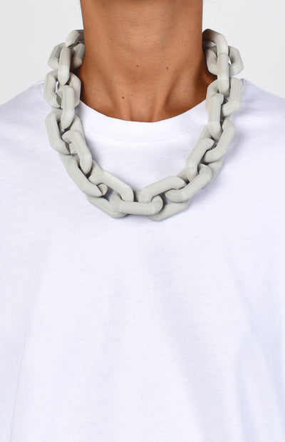 3D Printed Chains - Soft Grey