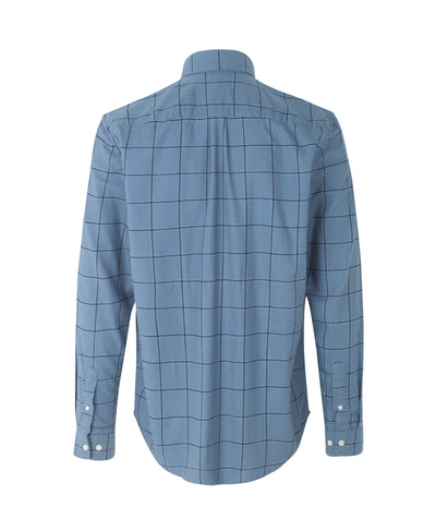 Liam BA Shirt - Blue Mirage Checked