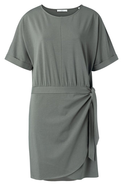 Modal Wrap Dress - Blueish Grey