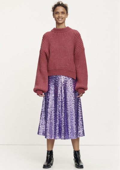 Henny Skirt - Aster Purple