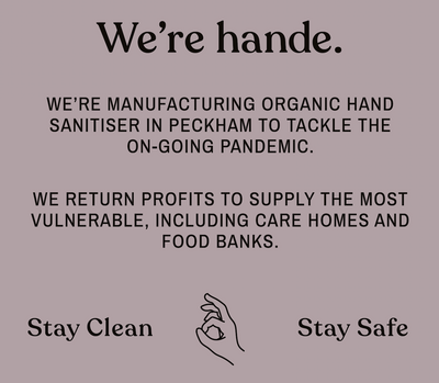 Organic 50ML Hand Sanitiser