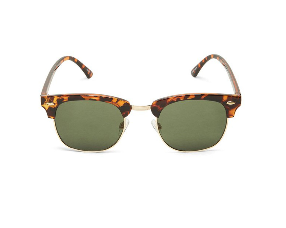 Laus Unisex Sunglasses - Demitasse Brown Rim