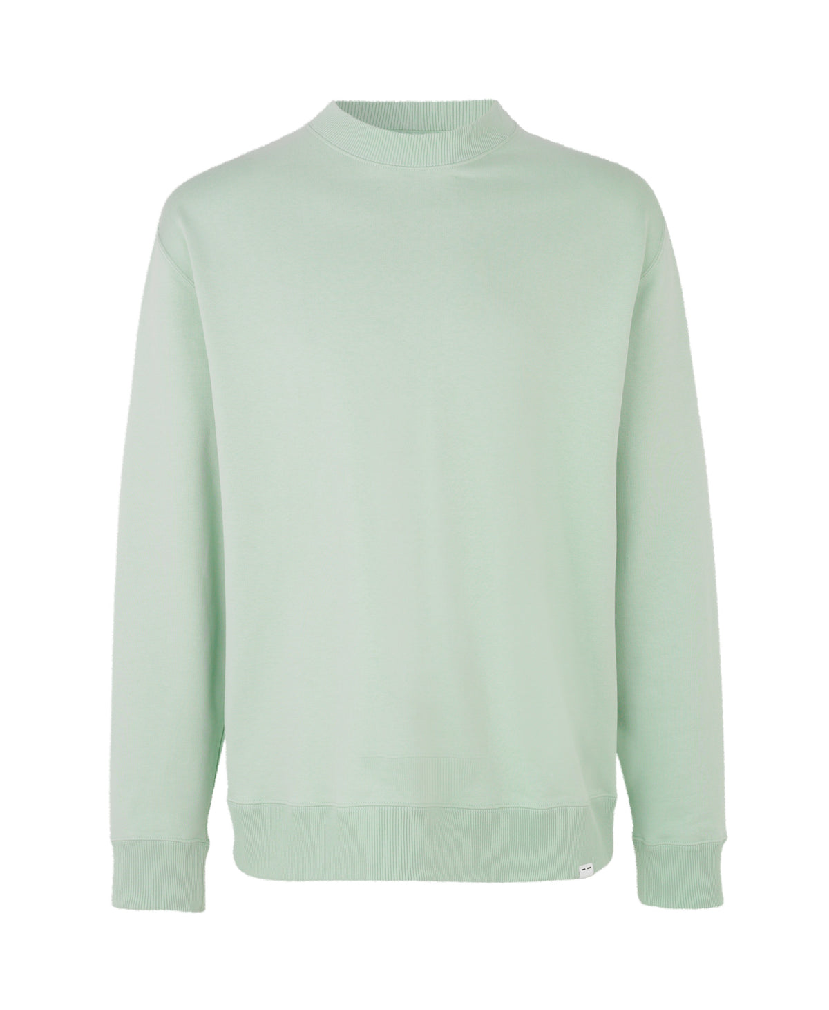 Toscan Crew Neck - Frosty Green