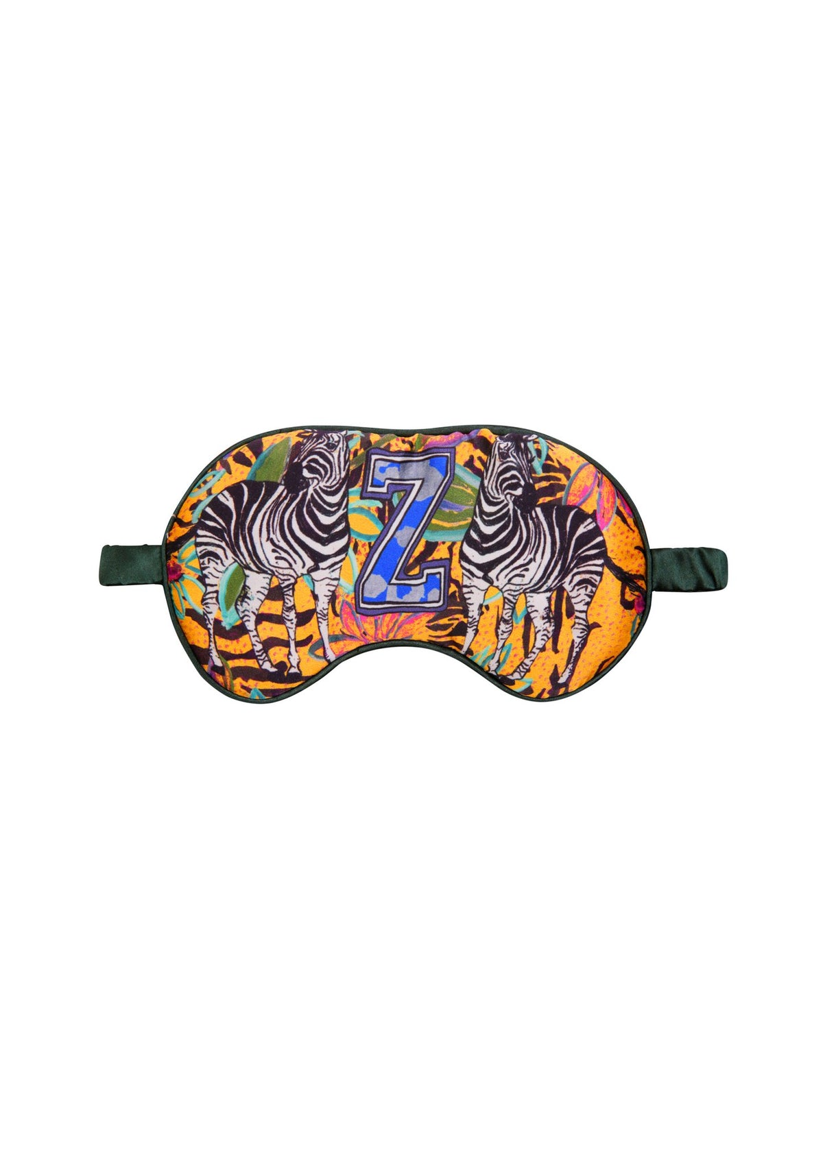 Silk Alphabet Eye Mask - Z for Zebra