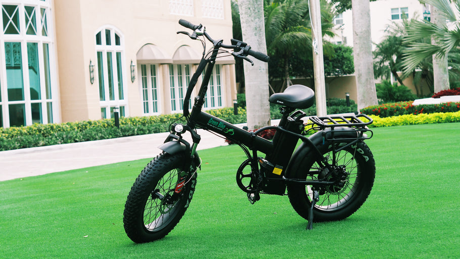 The GB1 Fat Tire Folding Electric Bicycle