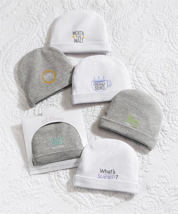 Baby Talk, Sentiment Baby Caps