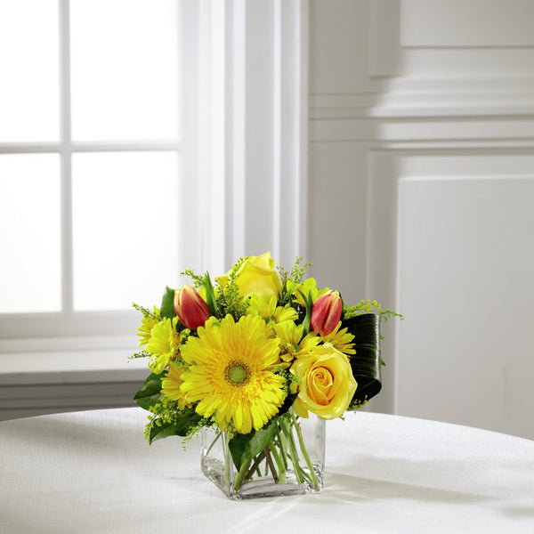 Spring Sunshine Bouquet - Winnipeg Flower Delivery by Broadway Florists