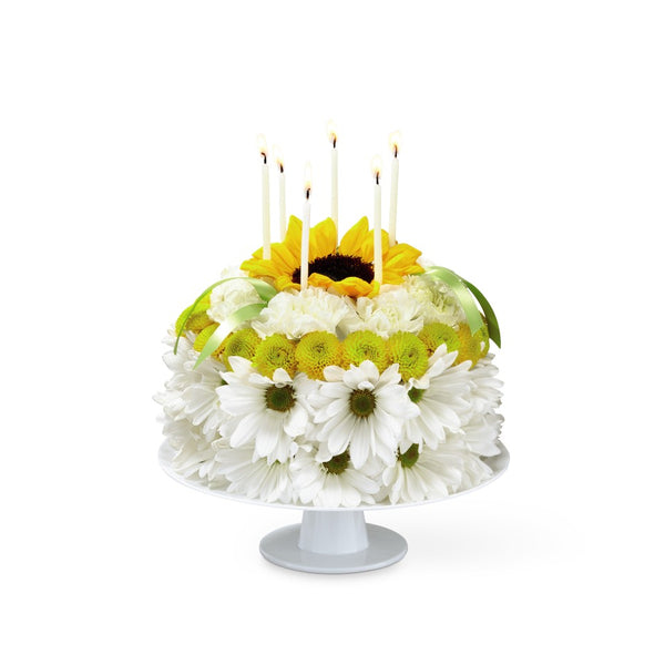 Happy Birthday Cake - Winnipeg Flower Delivery by Broadway Florists
