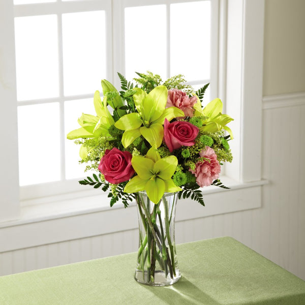 Bright and Beautiful Bouquet - Winnipeg Flower Delivery by Broadway Florists