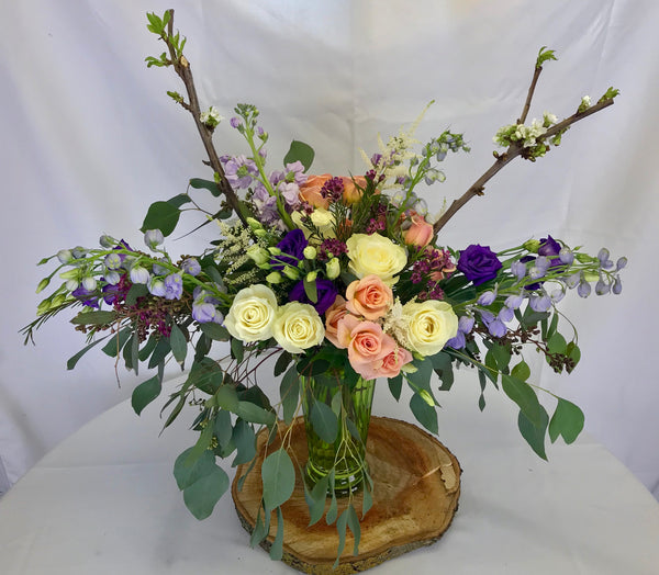 Whimsical Garden Bouquet - Winnipeg Flower Delivery by Broadway Florists