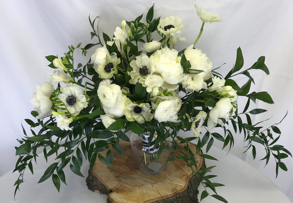 White Elegance - Winnipeg Flower Delivery by Broadway Florists