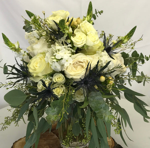 White Garden Inspiration. - Winnipeg Flower Delivery by Broadway Florists