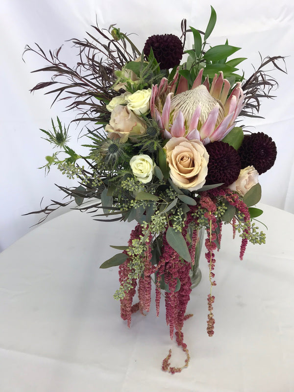 Pink Protea bouquet - Winnipeg Flower Delivery by Broadway Florists