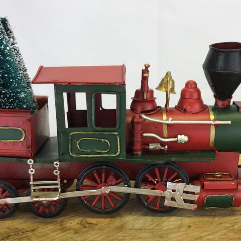 Retro Classic Christmas Train - Winnipeg Flower Delivery by Broadway Florists