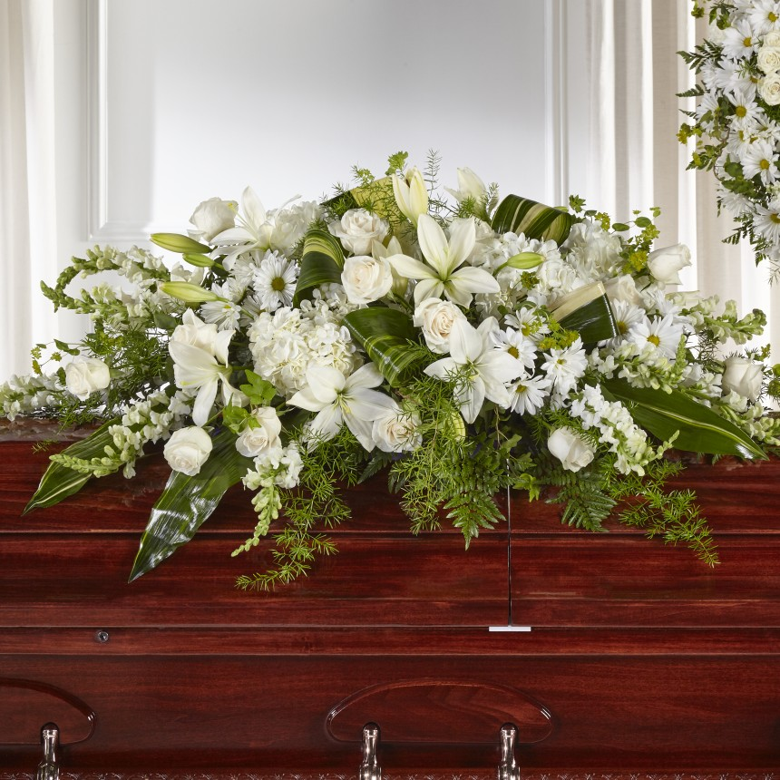Abundance Casket Spray - Winnipeg Flower Delivery by Broadway Florists