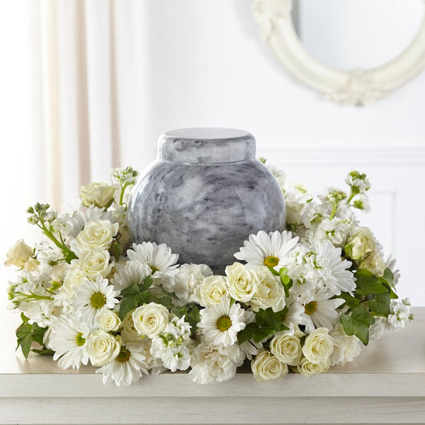 Timeless Tribute Cremation Adornment - Winnipeg Flower Delivery by Broadway Florists