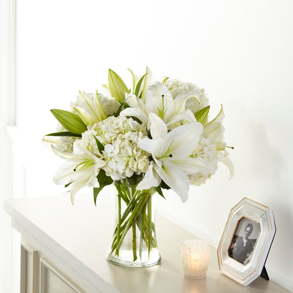 Compassionate Lily Bouquet - Winnipeg Flower Delivery by Broadway Florists