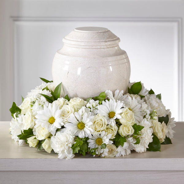 Ivory Gardens Cremation Adornment - Winnipeg Flower Delivery by Broadway Florists