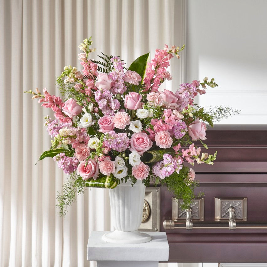 Divine Comfort Arrangement - Winnipeg Flower Delivery by Broadway Florists