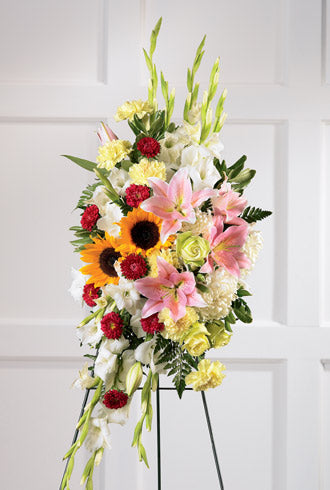 The FTD Precious Standing Spray - Winnipeg Flower Delivery by Broadway Florists