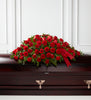 The FTD Dearly Departed Casket Spray - Winnipeg Flower Delivery by Broadway Florists