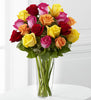 The FTD Bright Spark Rose Bouquet - Winnipeg Flower Delivery by Broadway Florists