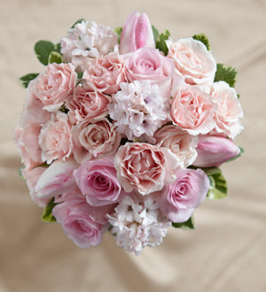 The FTD Dawn Rose Bouquet - Winnipeg Flower Delivery by Broadway Florists