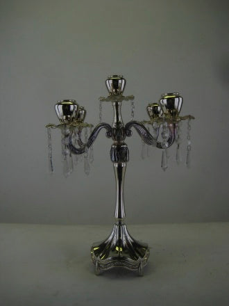 5 SILVER CANDELABRA - Winnipeg Flower Delivery by Broadway Florists