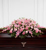 The FTD Sweetly Rest Casket Spray - Winnipeg Flower Delivery by Broadway Florists