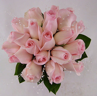 Soft Pink Rose Bouquet - Winnipeg Flower Delivery by Broadway Florists