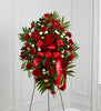 The FTD Treasured Memories Standing Spray - Winnipeg Flower Delivery by Broadway Florists