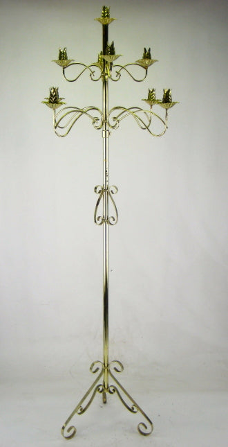 GOLD STAND CANDELABRA - Winnipeg Flower Delivery by Broadway Florists