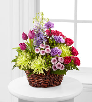 The FTD Truly Loved Basket - Winnipeg Flower Delivery by Broadway Florists