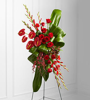 The FTD Sweet Thought Standing Spray - Winnipeg Flower Delivery by Broadway Florists