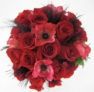 Red Rose Bouquet - Winnipeg Flower Delivery by Broadway Florists