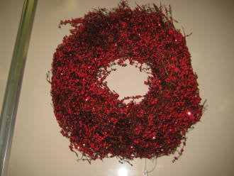 Berry Wreath - Winnipeg Flower Delivery by Broadway Florists