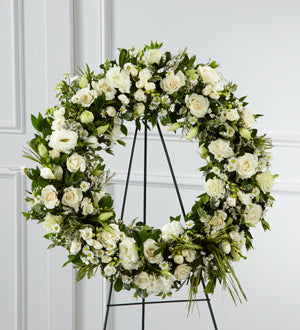 The FTD Splendor Wreath - Winnipeg Flower Delivery by Broadway Florists