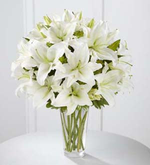 The FTD Spirited Grace Lily Bouquet - Winnipeg Flower Delivery by Broadway Florists