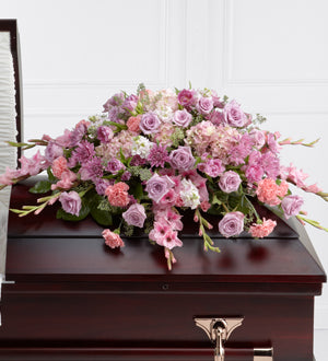 The FTD Immorata Casket Spray - Winnipeg Flower Delivery by Broadway Florists