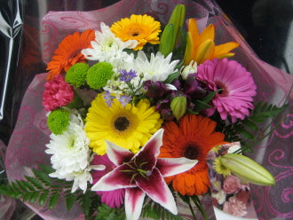 Seasonal  Cut Bouquet - Winnipeg Flower Delivery by Broadway Florists