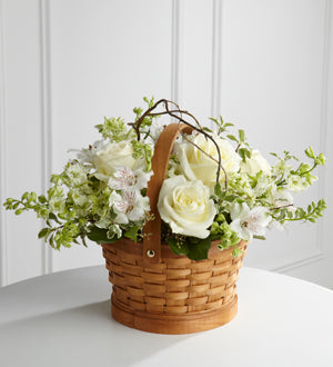 The FTD Peaceful Garden Basket - Winnipeg Flower Delivery by Broadway Florists