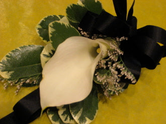 Calla Corsage - Winnipeg Flower Delivery by Broadway Florists