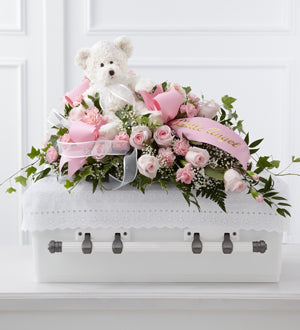 The FTD Touch of Sympathy Casket Spray - Winnipeg Flower Delivery by Broadway Florists