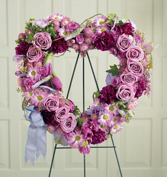 The FTD Heartfelt Sympathies Wreath - Winnipeg Flower Delivery by Broadway Florists